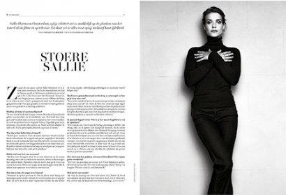 L'Officiel | Sallie Harmsen